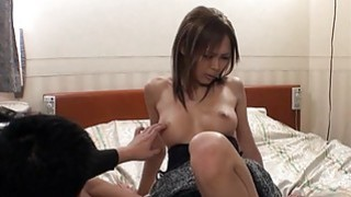 Cute japanese babe in nylons_thrills with blow job image