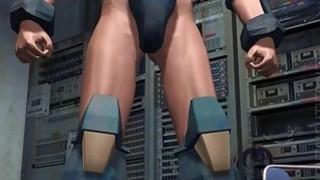 Hottie 3D anime babe suck tentacles image