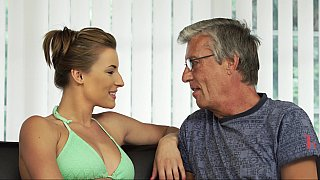 Teen swimmer seducing_her BF's father image