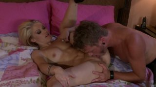 Rude boy eats Ash Hollywood and she blows his cock image