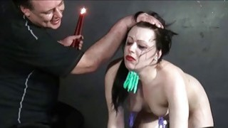 Humiliated_slave_Isabel_Deans_pegged_and_punished image