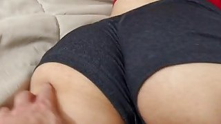 Sassy Latina Penelope Reed Slurps On Big Cock And Gets Pussy Stretched In POV image
