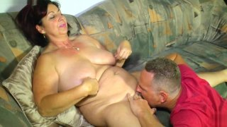 LETSDOEIT - German Amateur BBW Gets_Fucked On The Couch image