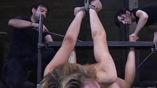 Tied up beauty receives gratifying for her_cunt image