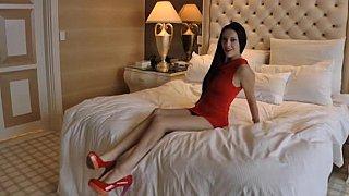 Hotel room banging image