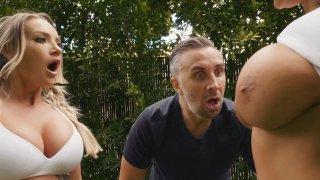 Big Titty League Football: jocks with juggs extravaganza image