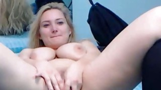 Big boobs blonde pussy squirting contest image