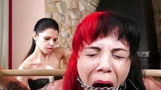 Karina cruels lesbian bdsm of latina slave girl Ca image