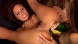 Jenna Haze and Kirsten Price fuck each other in front_of their friends image