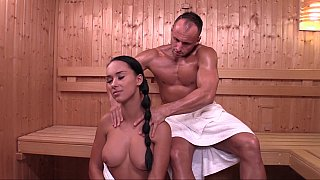 Unrated camyli victoria in bangin camyli, Czech girl victoria sweet in sauna image