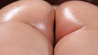 Guru rubs oil drills huge dick into wet pussy on hottie Mia image