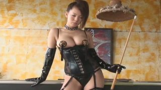Scorching Japanese maiden Hitomi Tanaka is a very bad girl image