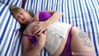 OmaGeiL Huge Granny Boobs Solo Showoff and_Toys image