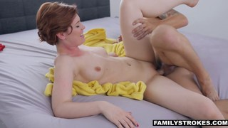 Step-Siblings fucking while parents are away image