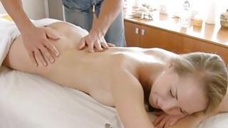Instead of massage excited hottie acquires sex image