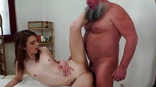 Czech Tera Link fingered by old masseur image