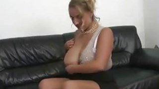 Blonde MILF with big natural tits and_shaved pussy fuck image