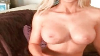 Big tited milf flashing her tits image