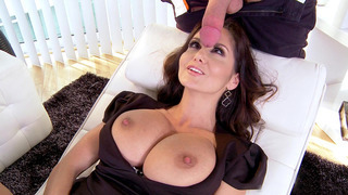 Horny MILF Ava Addams takes that thick dick in her hungry mouth image