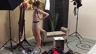 Cassidy Klein blows and rides step dad big_rod image