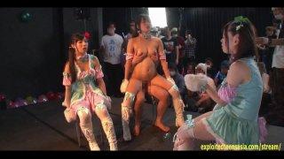 Jav Idol Kururigi Aoi Fucked On Stage image