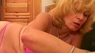 blonde granny sucking sleeping young cock image