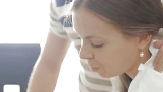 Jen creampie brunette_full length Carre seduced by classmate image