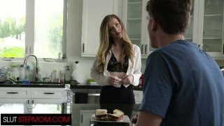 Hot Step Mom Karla Kush Seduces Step Son While His Dad Is Away image