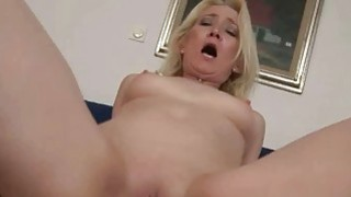 Granny_giving_blowjob_and_riding_cock_in_POV image