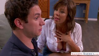 "MILF Alexis Fawx And Her Big Tits Help ""Nurse"" a Gangover image"