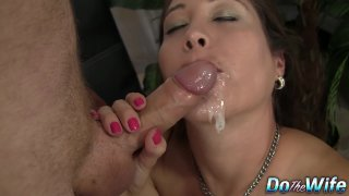 Long Haired Jamie_Lynn Skye Auditions Her Mouth and Pussy for a Casting image
