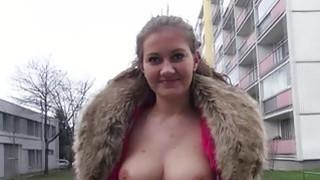 Cumming inside a hot blonde amateur image