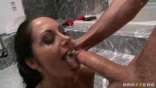 Deep and tremendously skillful blowjob from Ava image