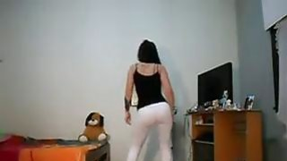 Beautiful Latin Girl Dancing image