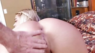Blonde_slut_Kenzie_Green_takes_two_old_mans_cock image