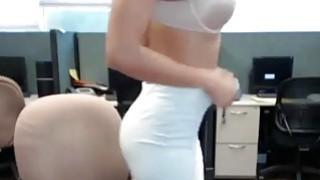Amateur Indian Masturbates Her Desi Pussy In Public Office At Work image