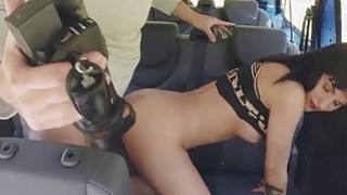 Teen Bella pounded and mouthful of cum image