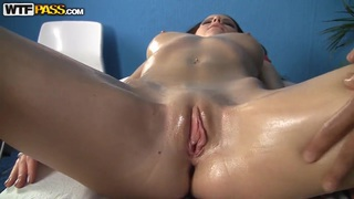 Sexy nude massage gets Mikaela extremely_horny. image