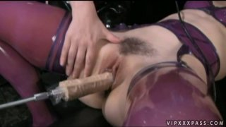 Dirty-minded and kinky brunette Sinn Sage wanna get her pussy polished image