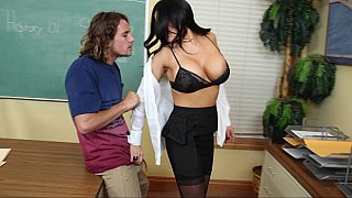 Image: Big Tits Teacher Fucks Her Big-Dick Student at the Office