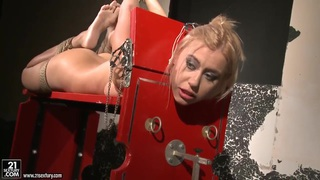 BDSM action with nasty lesbians named Mandy Bright and Nikky Thorne image