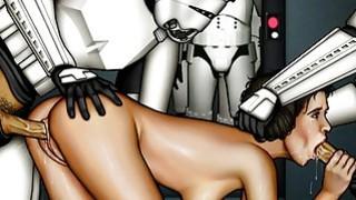 Star Wars_cartoon porn parody image