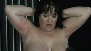 Chinas electro torture and needle bdsm of mature image