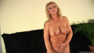 Cougar slut Rosalyn wants to suck juicy dick of Markus Waxenegger image