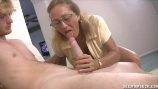 Image: Milf And Teen Suck And Slobber A Big Cock