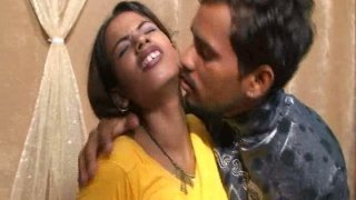 Indian slut Vikky takes off her sari and wanks with dildo image