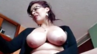 czech housewife Mobile movies - Busty housewife liza toying live at home image