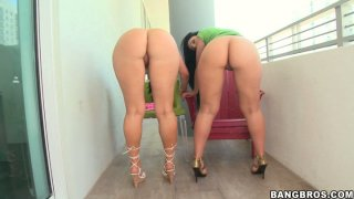 Favorite genesis mia lopez naked ~ Two whores luscious lopez and ava rose with big asses please each other image