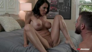 Juicy Chested Reagan Gives In and Gives It Up image