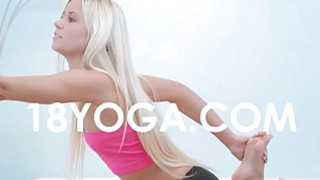 Pervert bf photos nude teen in yoga - forced yoga image